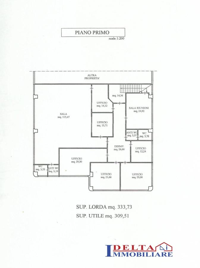 Annunci immobiliari inserzionista agenzia immobiliare for Cabina principale delta